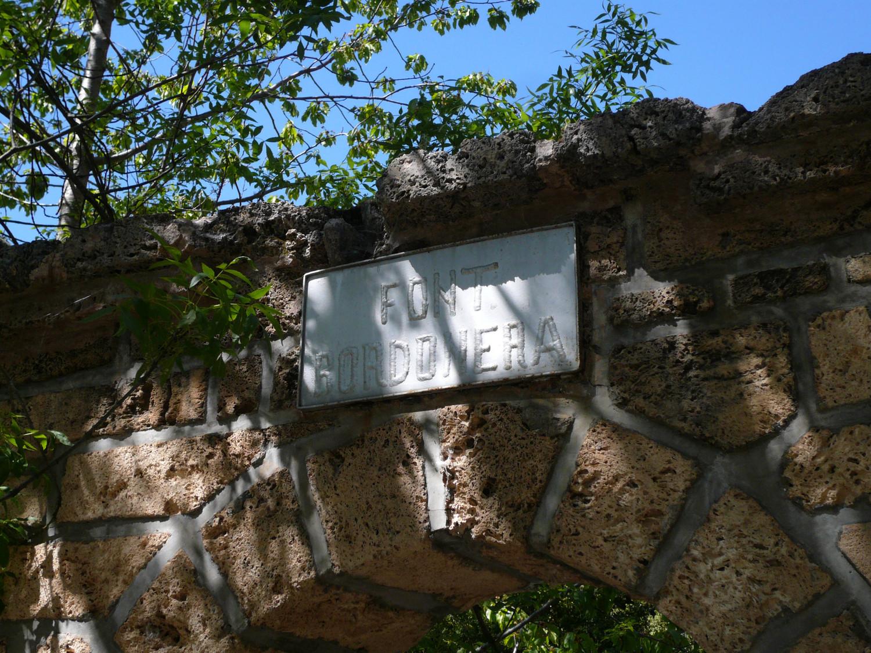 Portail de la Font Bordonera (détail)