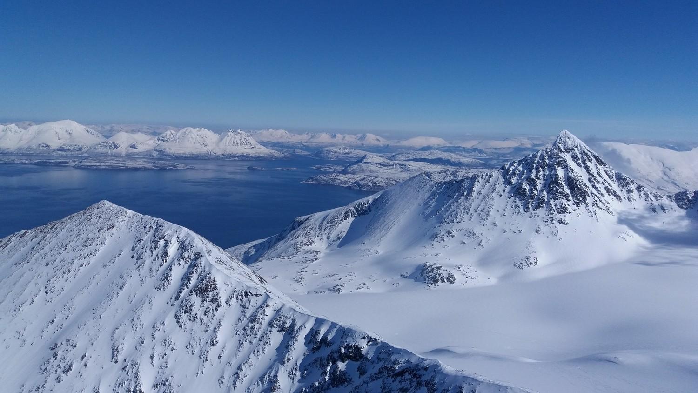 Fjord et glacier