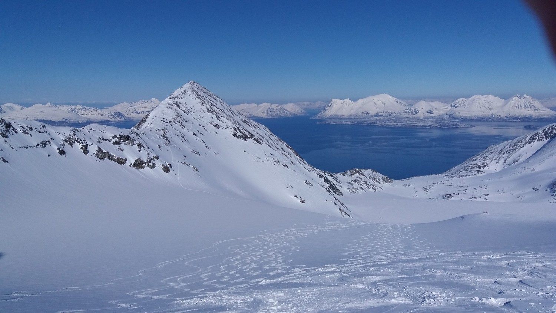 Descente du glacier Gamvikblaisen