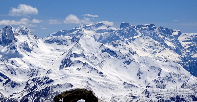vue sur le massif de Gavarnie Mt Perdu