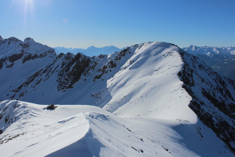 Col (et bivouac de Penne Nere) et Mont Mary
