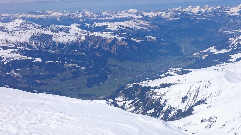 Obersimmental depuis Mittelgipfel
