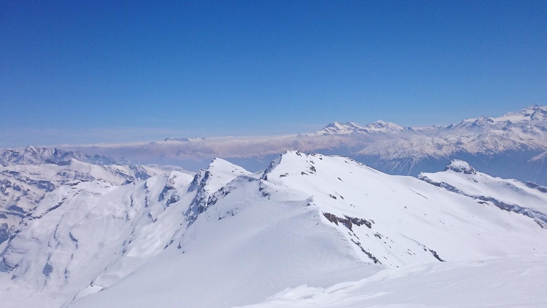 Schwarzhorn et Schneehorn depuis Wildstrubel