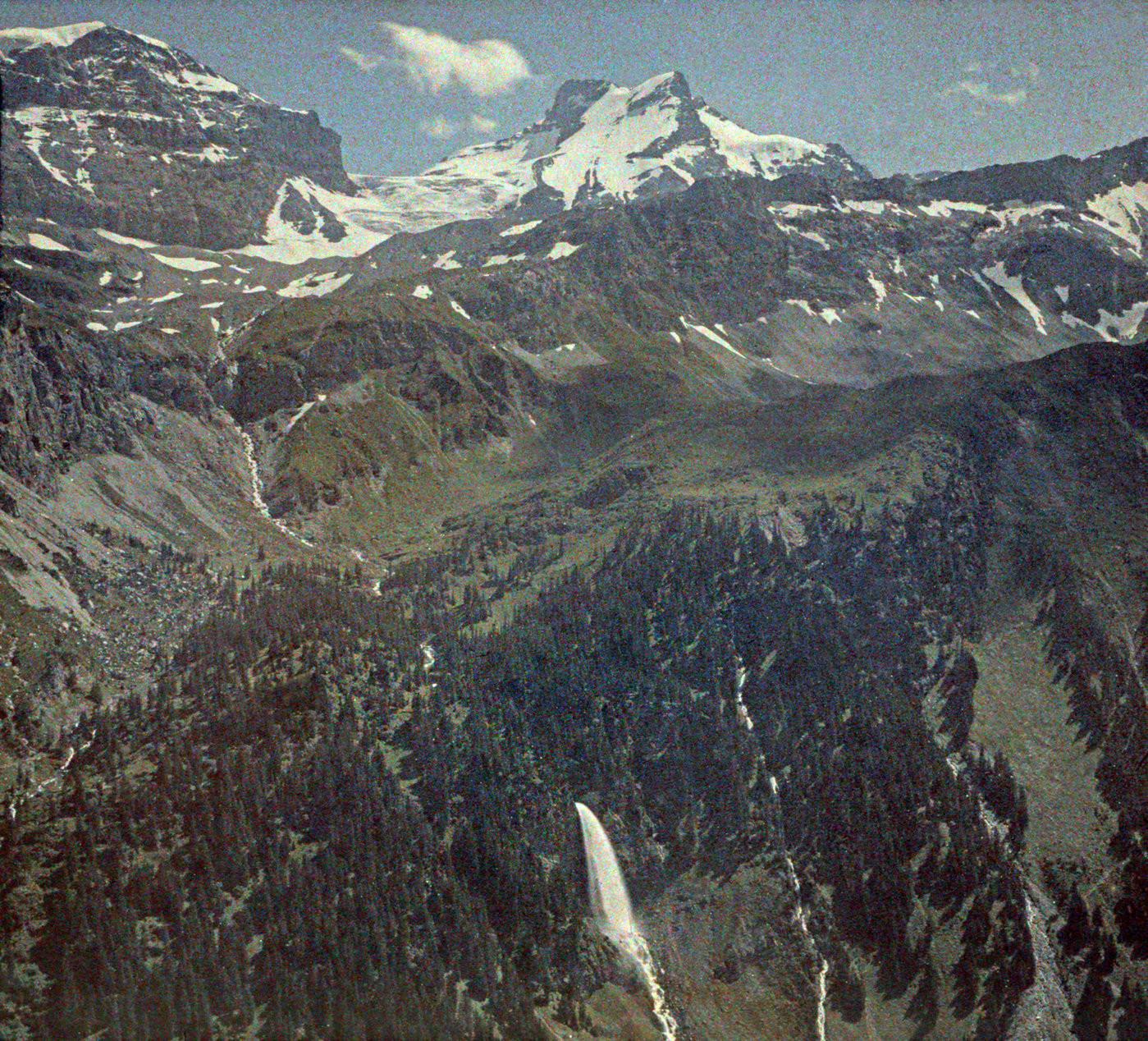 Staubifall, Clariden en 1927