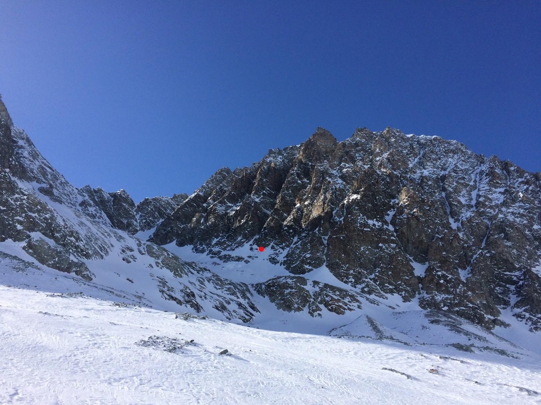 Attaque de la voie su Soleil Levant (Mont Collon)