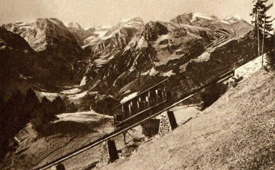 Train de Braunwald