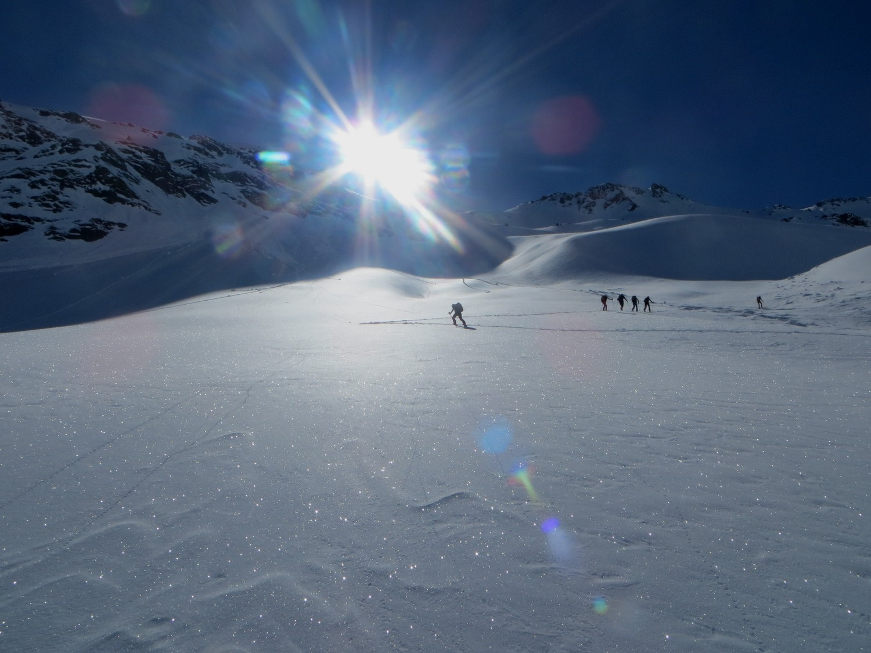 Salendo al Monte Rinalpi