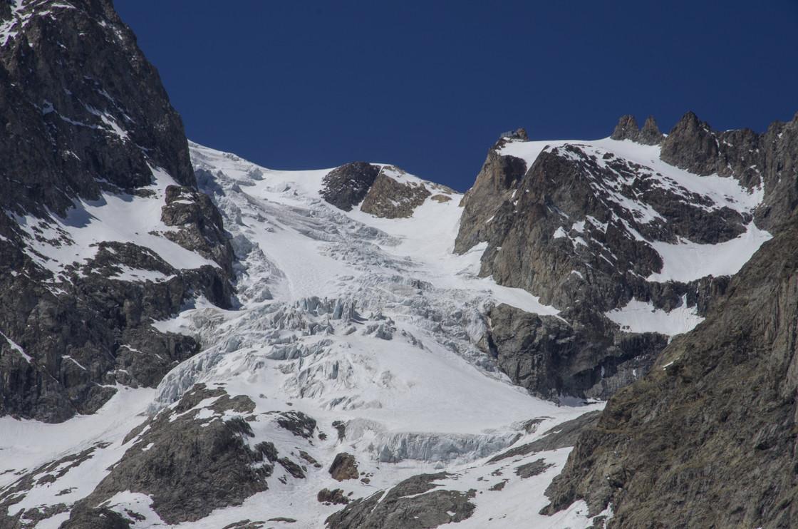 Vue d'ensemble du Glacier de l'Homme