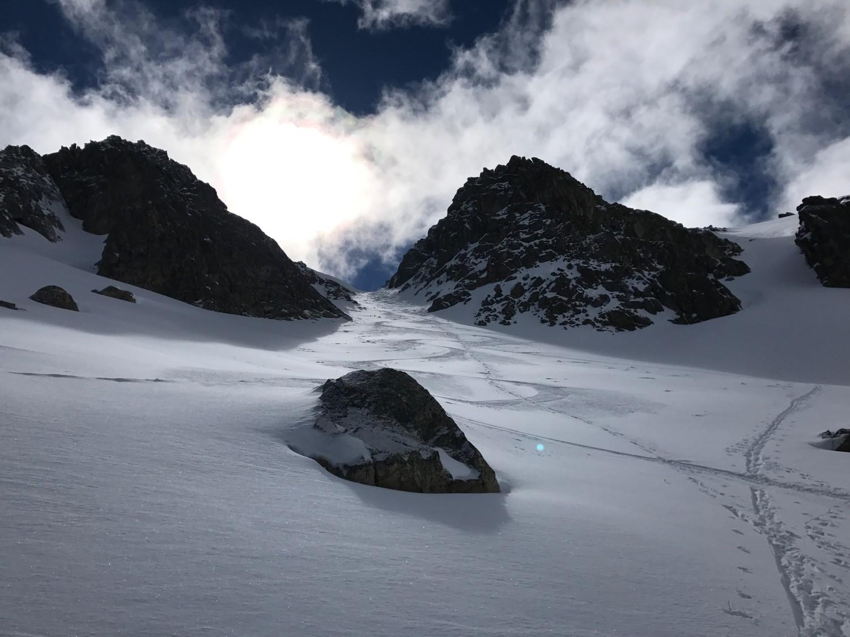 Breche et super neige