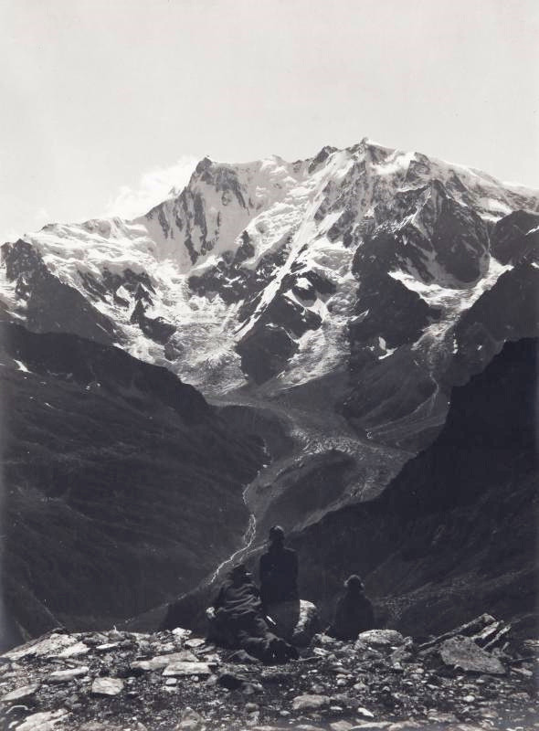 Mont Rose E par Vittorio Sella