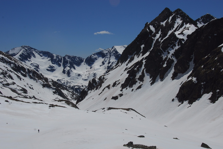 Baixada per la vall d'Areste