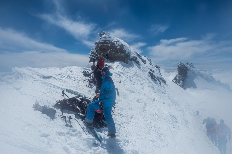 Fin du ski ! On cramponne...