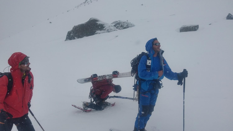 Sous le glacier de Montcorvé