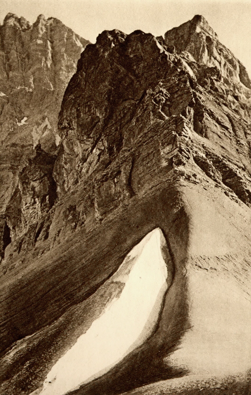 Dents du Midi Dôme vu du col de Susanfe