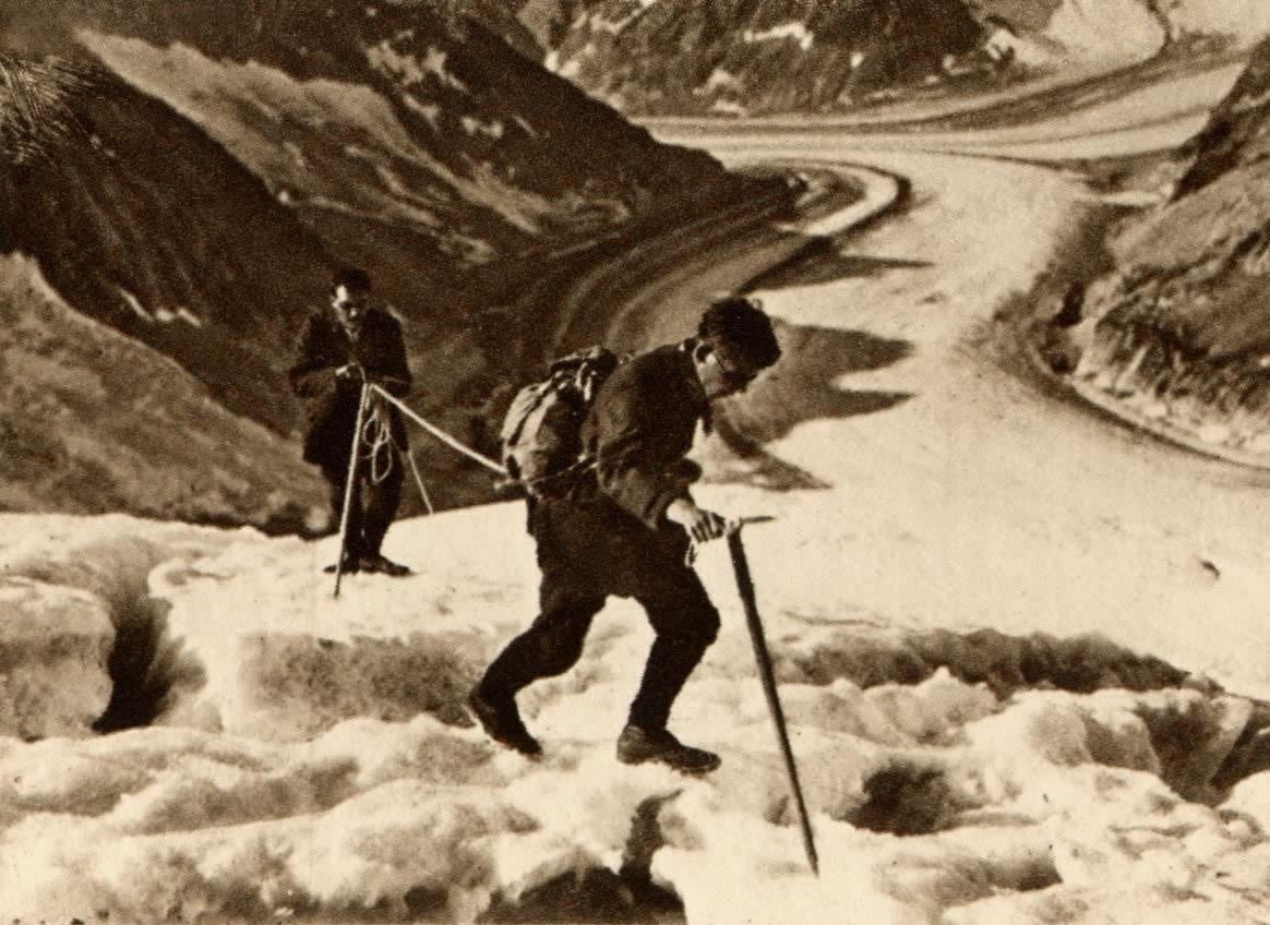 Glacier d'Aletsch par Boissonnas