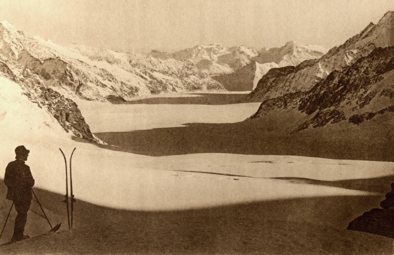 Glacier d'Aletsch par Gyger