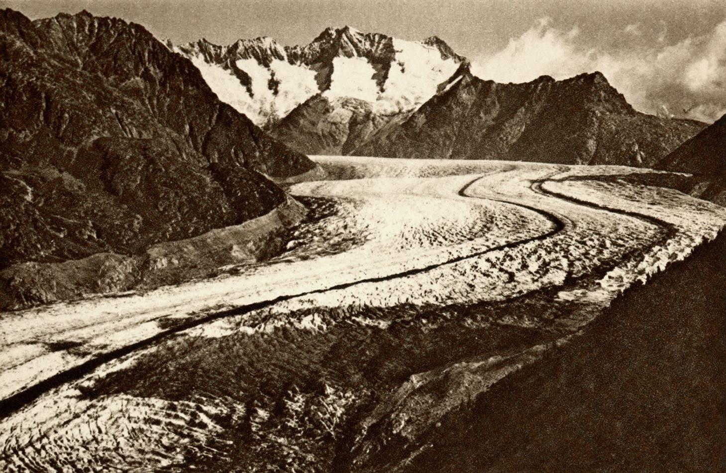 Glacier d'Aletsch - Fiescherhorn par Gyger