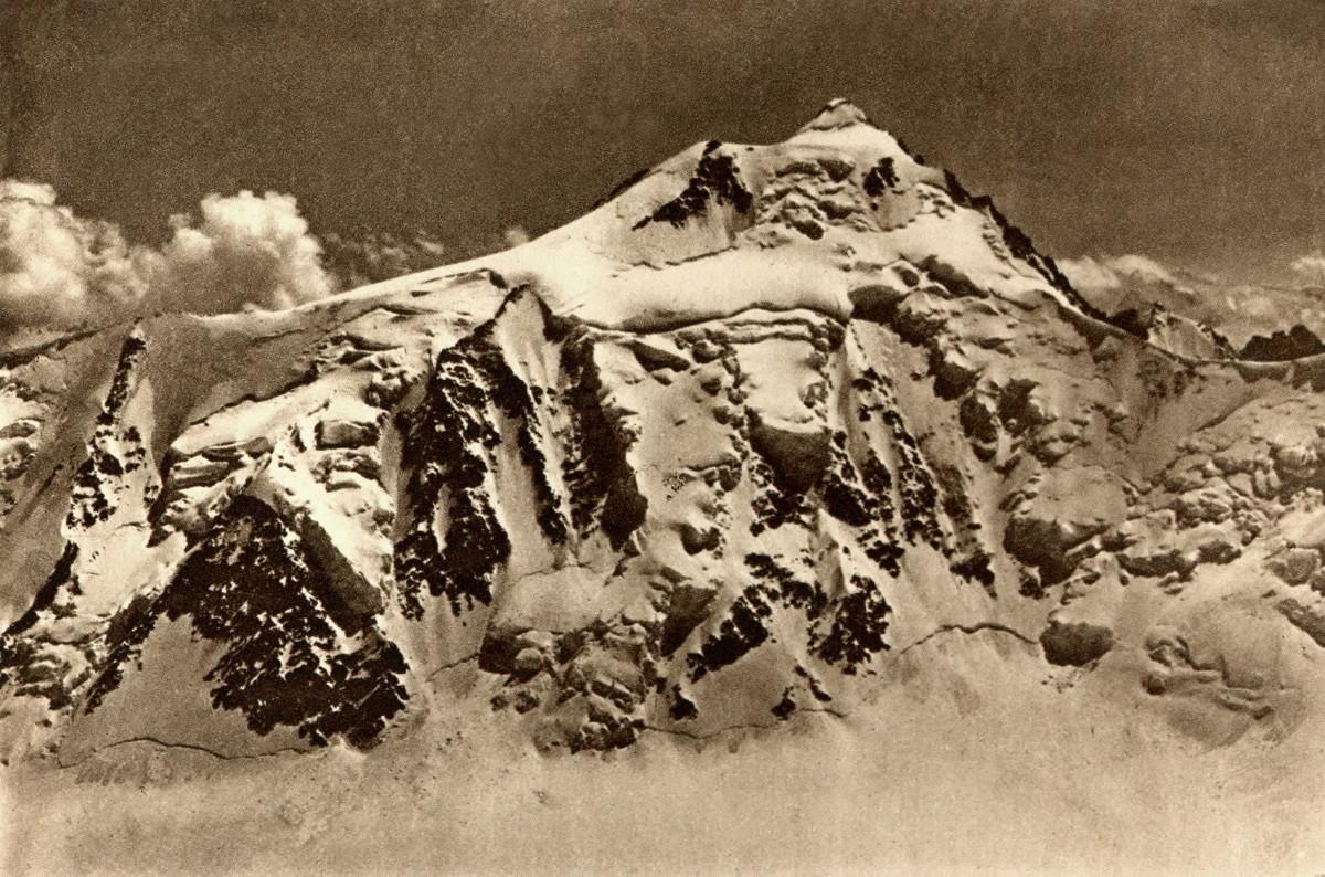 Aletschhorn vu de l'Ebnefluh par Gyger