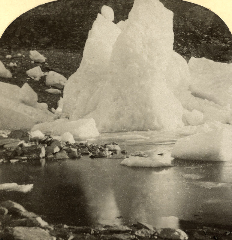 Lac de Marjelen par Gabler en 1885