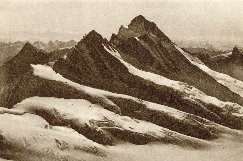 Fiescherhorn - Finsteraarhorn par Gyger