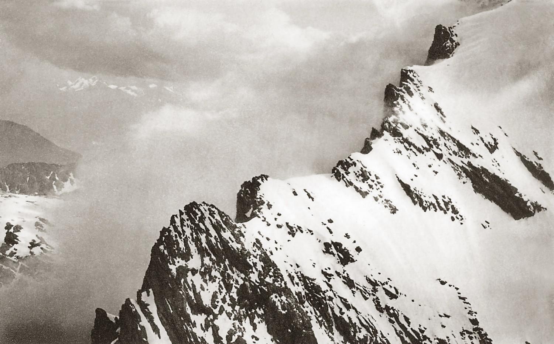 Balmhorn, arête N par Edouard Spelterini 1913