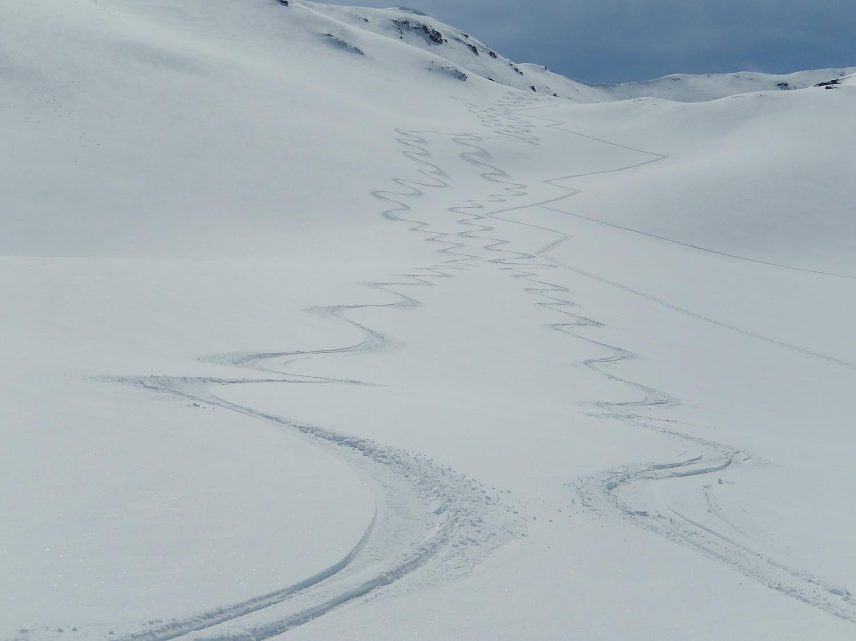 Prime tracce dal Mont Rosset