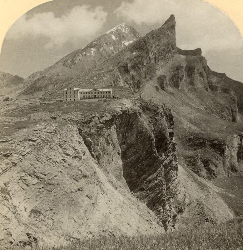 Gemmi, Rinderhorn & Plattenhorn, par Gabler 1885