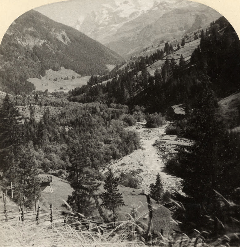 Kienthal et Blümlisalp par Gabler en 1885