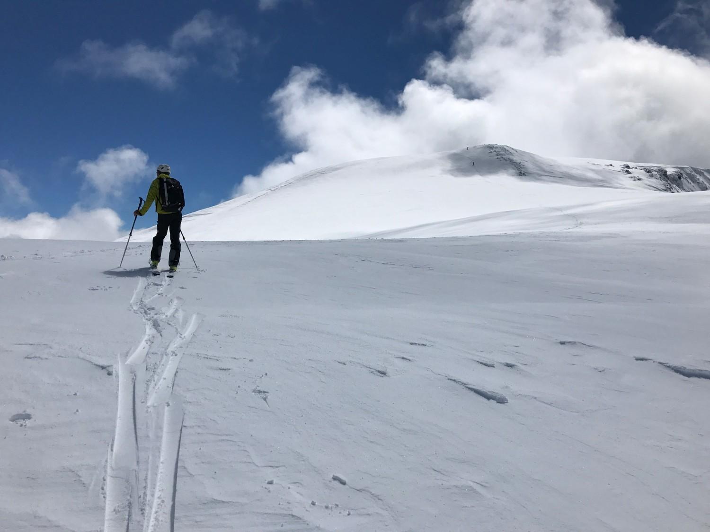 Le sommet en vue