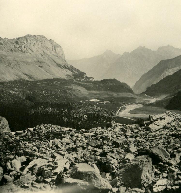Chemin de la Gemmi sous Schwarenbach, NPG 1912