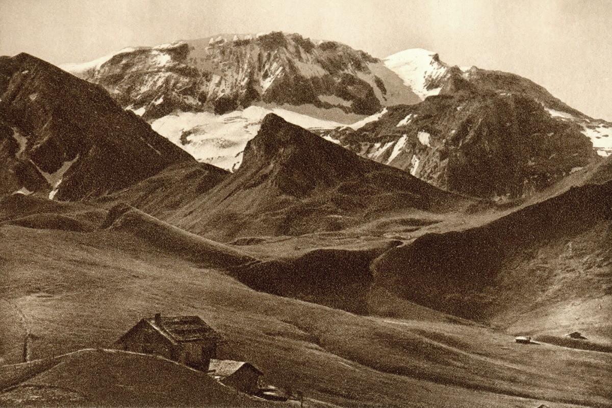 Wildstrubel vu du col de Hahnemoos par Gyger