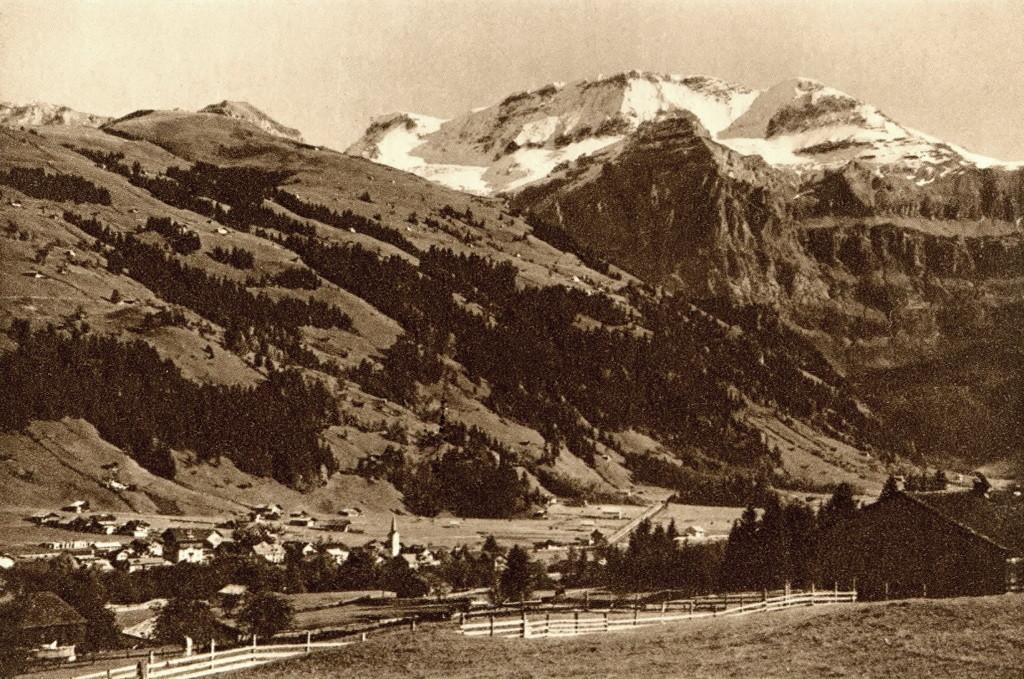 Wildstrubel vu de Loèche par Klopfenstein
