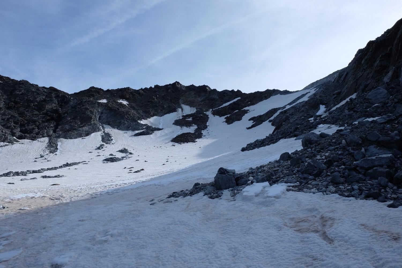 Glacier de Labby (ou plutôt ce qu'il en reste)