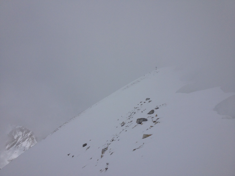 Derniers mètres au Brunegghorn