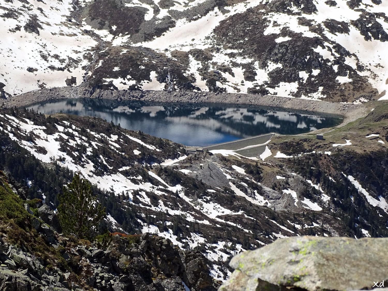 lac d'ets Coubous dégélé