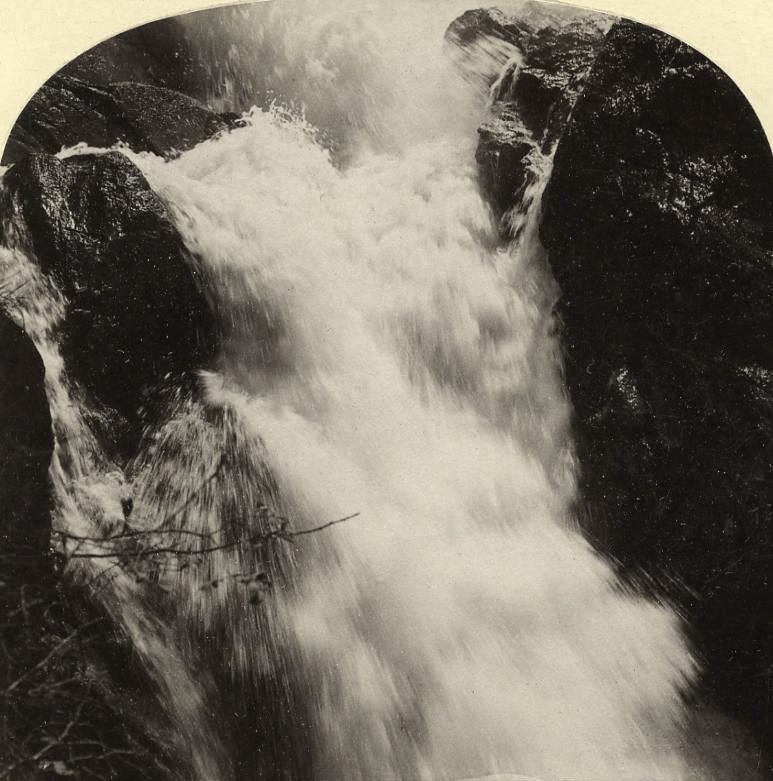 Giessbach par Gabler en 1885