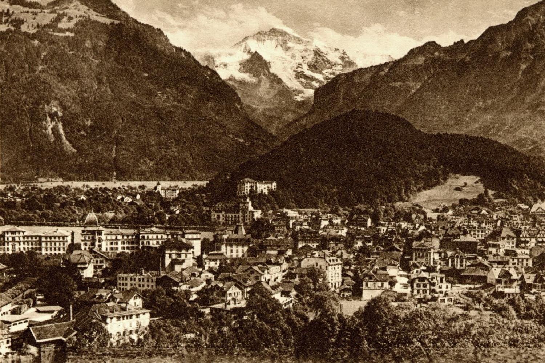 Interlaken, Jungfrau par Photoglob
