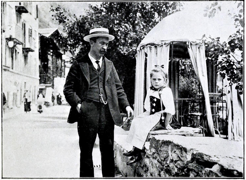 FIls et petite fille de Melchior Anderegg à Meiringen par Aubrey Le Blond (Elisabeth Hawkins-Whitshed)