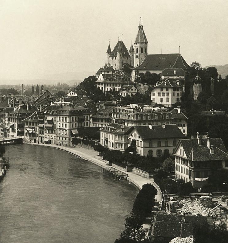 Thoune, Aare par NPG 1906