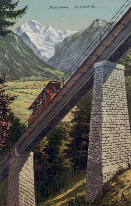 Jungfrau and Harderbahn
