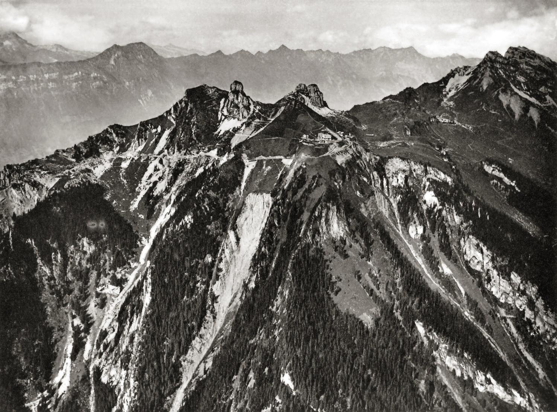 Schynige Platte par Edouard Spelterini en 1907