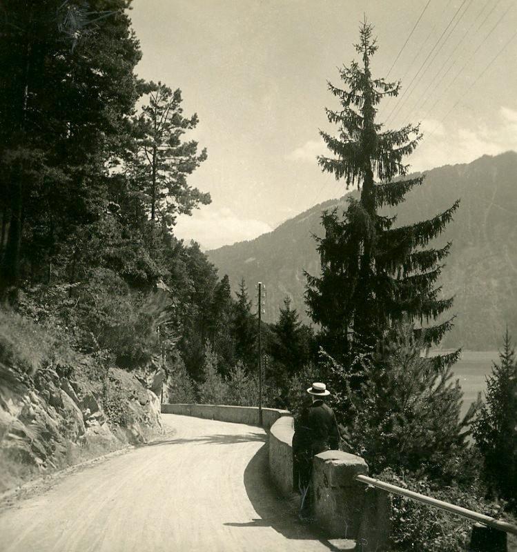 Lac de Thoune par NPG en 1906