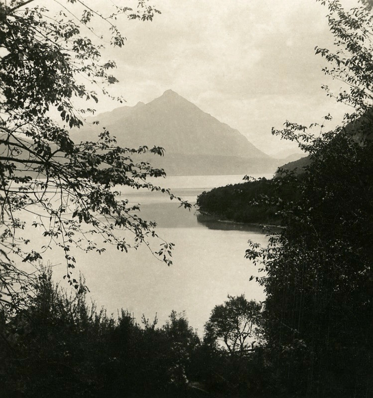 Lac de Thoune par NPG en 1906