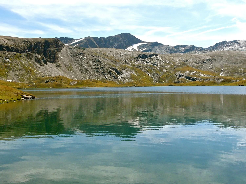Lac Miserin et Rosa dei Banchi en arrière plan
