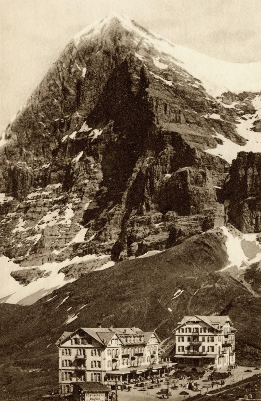 Eiger, Petite Scheidegg par Klopfenstein