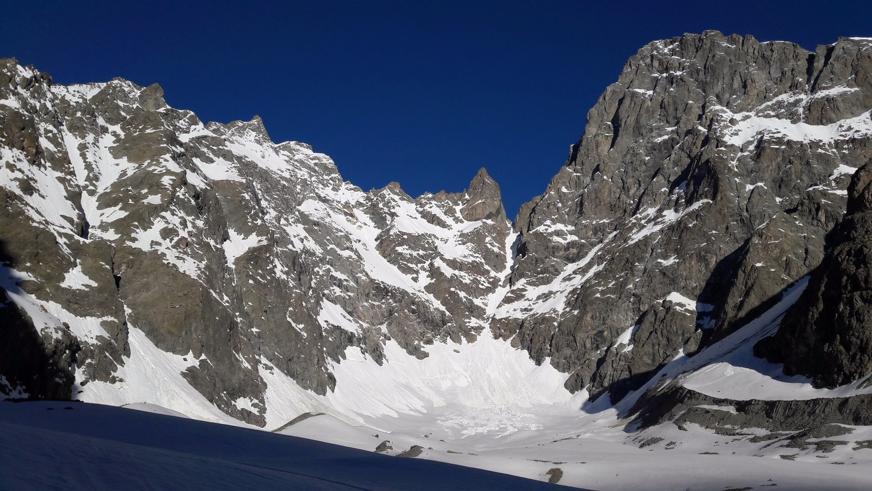 Pic Coolidge, Col des Avalanches et Barre des Ecrins