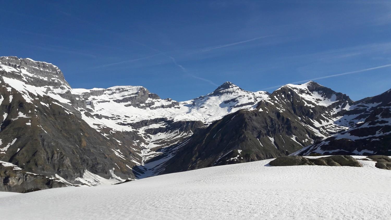 Versant S du Mont Ruan et Tour Sallière