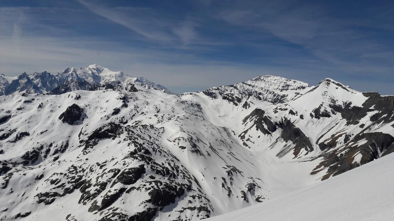 Vers le S - Mont-Blanc et Buet