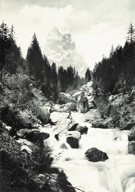 Rosenlauithal et Wellhorn par Theodor Wundt, 1898