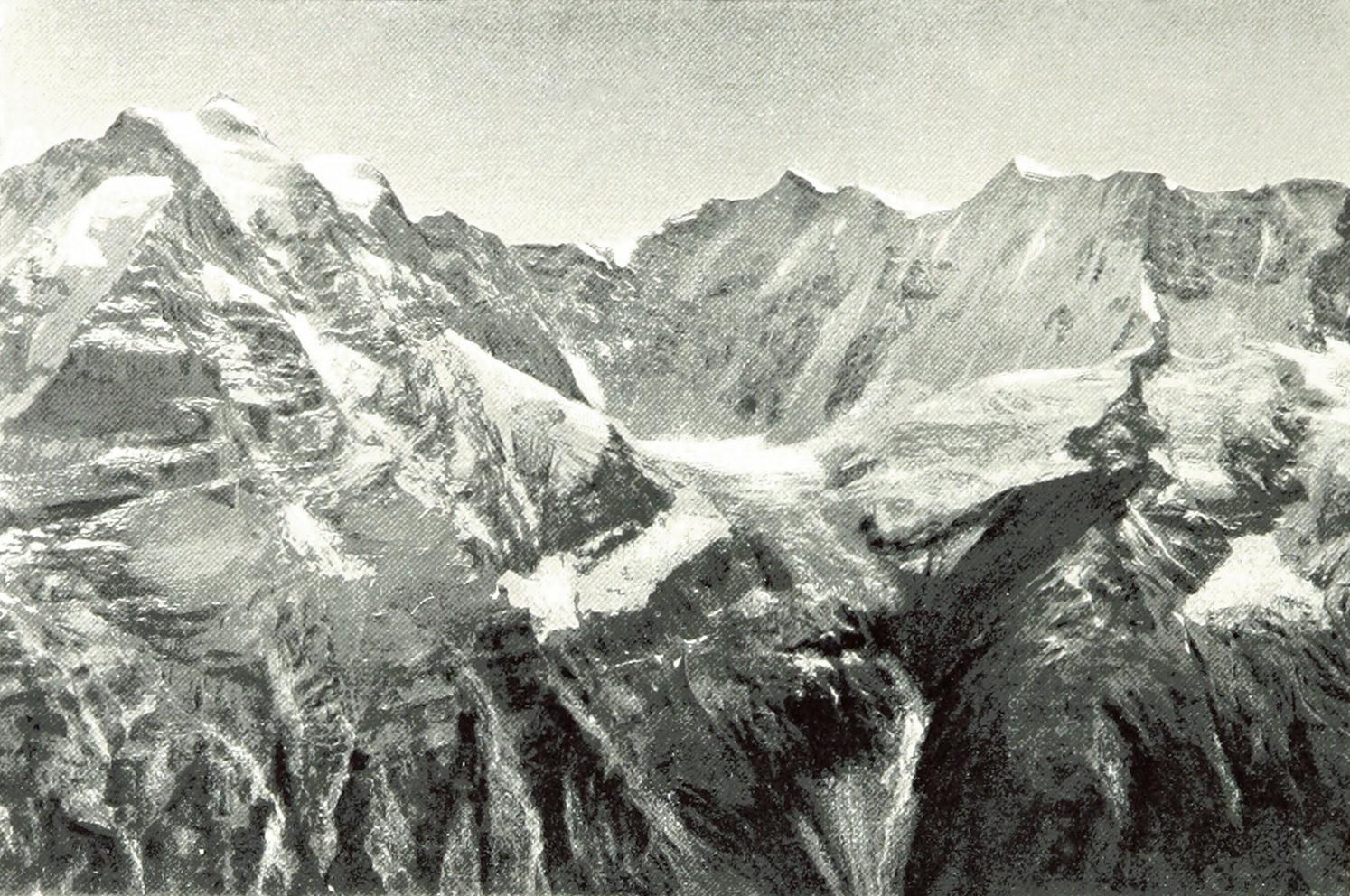 Jungfrau - Rotthal - Ebnefluh par Theodor Wund